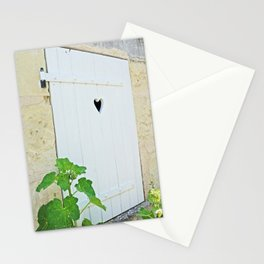Heart Shaped Door - France Stationery Cards