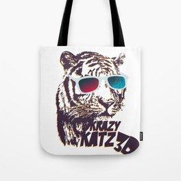 Crazy Tiger Tote Bag