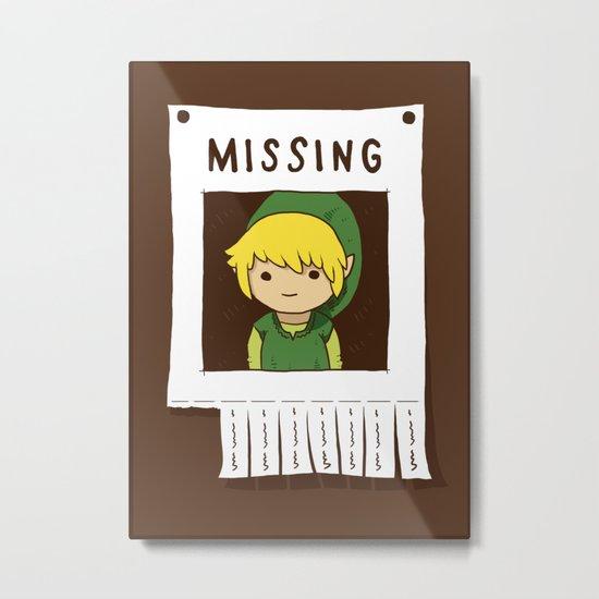 Missing Link Metal Print