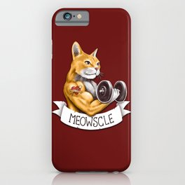 Meowscle iPhone Case