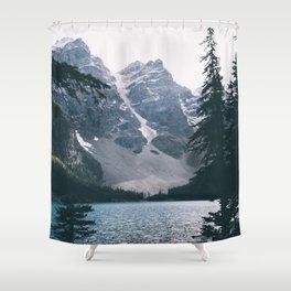 Moraine Lake Shower Curtain