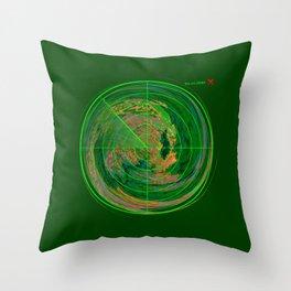 MindMap.02 - Reality Radar Throw Pillow