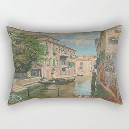 Vintage poster - Venice Rectangular Pillow