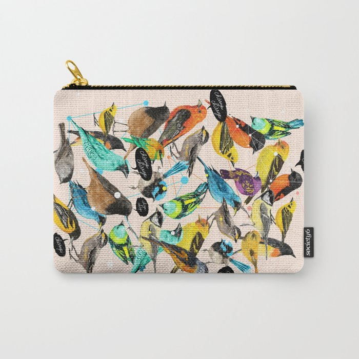 Chirp Chirrup Carry-All Pouch