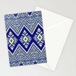legzira in blue Stationery Cards
