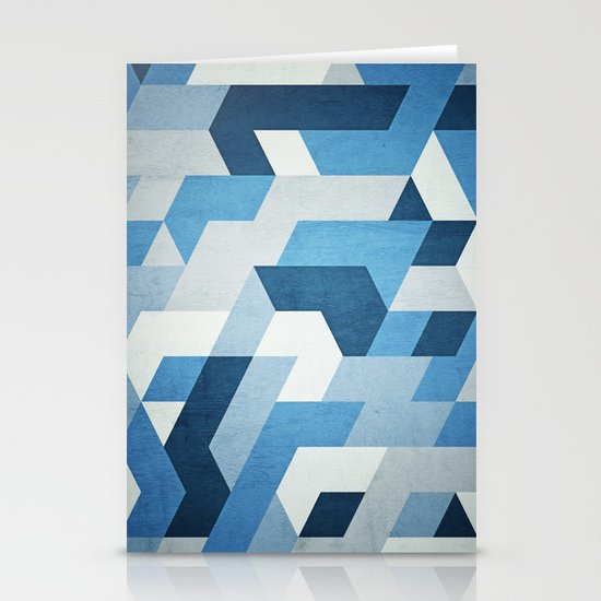Abstract Geometry  Stationery Cards