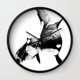 Orcas Wall Clock
