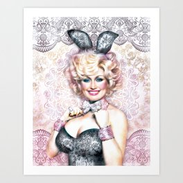 Workin' 9 to 5 Art Print