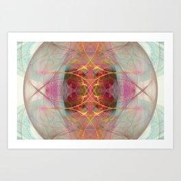 Owl Nebula Art Print