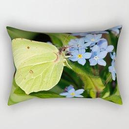 Brimstone Flutterby Rectangular Pillow