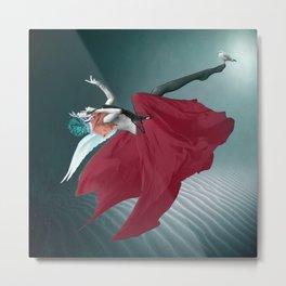 Red Angel Metal Print