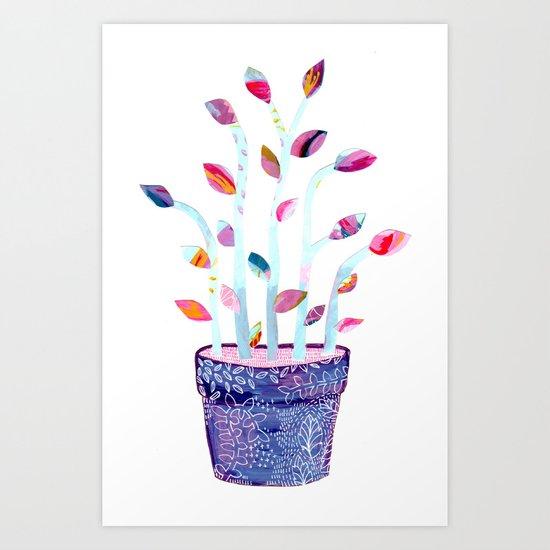 Houseplant 01 Art Print