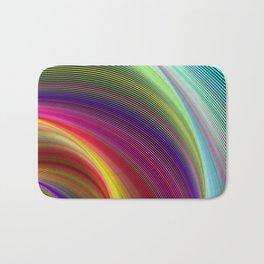 Vortex of colors Bath Mat