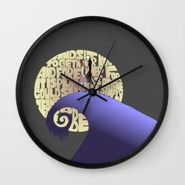 now and forever Wall Clock