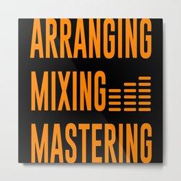 Arranging Mixing Mastering Metal Print