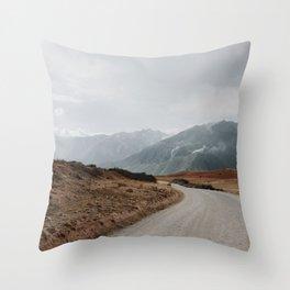 Peru Landscape Throw Pillow