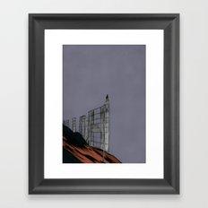 Hollywood Despair Framed Art Print