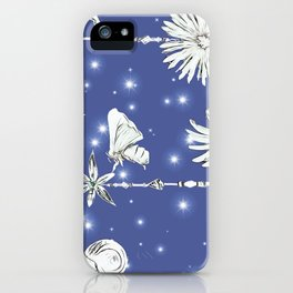 Midnight in the firefly gardens iPhone Case