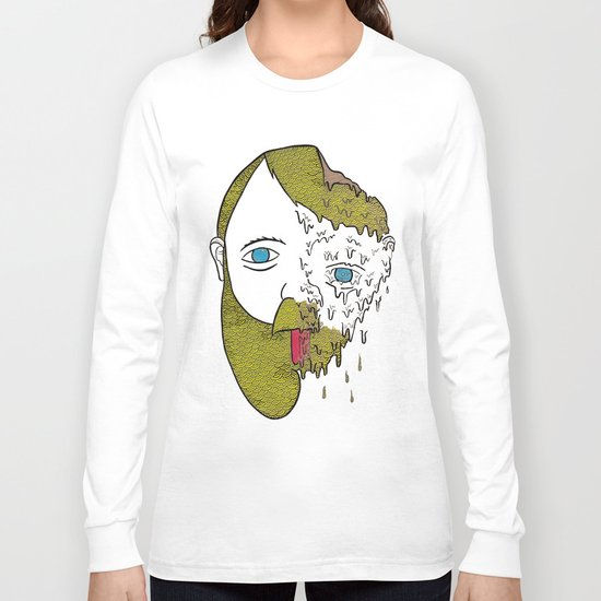 Face Melter Print Long Sleeve T-shirt