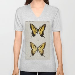Eastern Tiger Swallowtail (Papilio Turnus) from Moths and butterflies of the United States (1900) by Unisex V-Neck