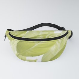 Green leaves #decor #society6 Fanny Pack