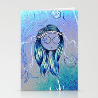 trippy Stationery Cards featuring Trippy by AndriBelieve
