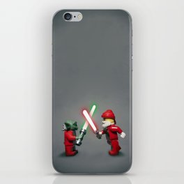 Lego Yoda Vs Santa iPhone Skin