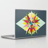 pantone Laptop & iPad Skins featuring Pantone Mandala by Brandon Harmon Design