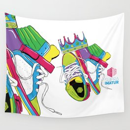 King of Kicks - Supra Imatur Wall Tapestry