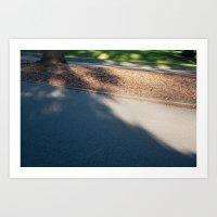 Shadow Curb Art Print