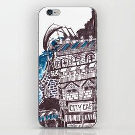 City cafe iPhone Skin