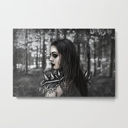 Edge of the Woods Metal Print