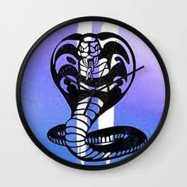 Cobra Kai's Wall Clock
