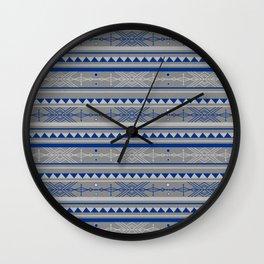 Bohemian Arrow Pattern Wall Clock
