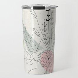 Judy's Bouquet Travel Mug