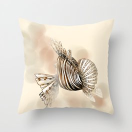 Poisson : Rascasse Throw Pillow
