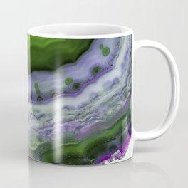 Purple and Green Agate Coffee Mug