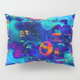 blue wattsit Pillow Sham
