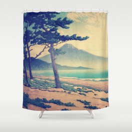 Sentience in Lakshi Shower Curtain