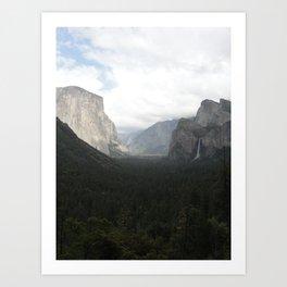 Yosemite National Park 2 Art Print