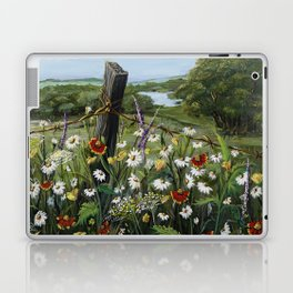 Wild Daisies Laptop & iPad Skin