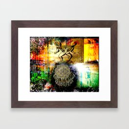 """Mommy's Little Monster"" Framed Art Print"