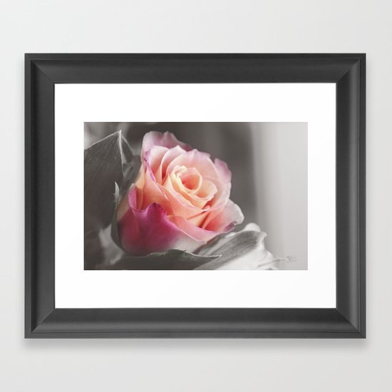 Peachie Framed Art Print