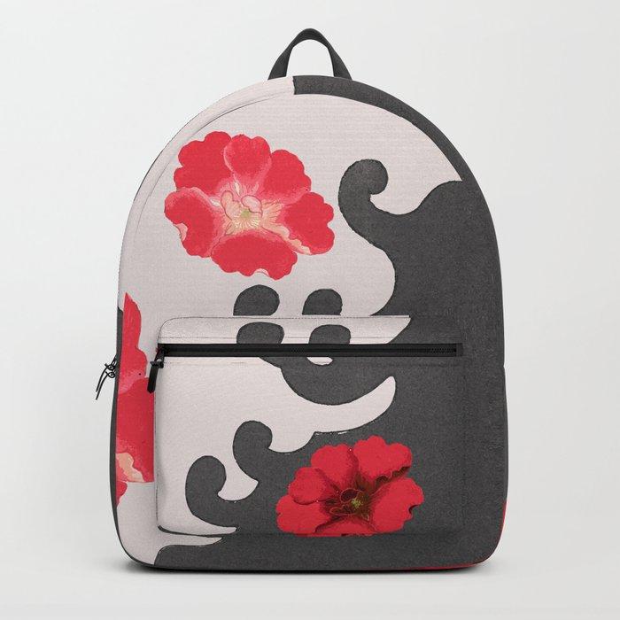 Red blossom dream Backpack