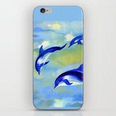 Dolphin Fantasy iPhone & iPod Skin