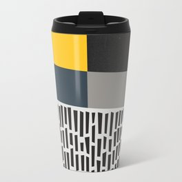 Umbrella Rain Abstract Travel Mug