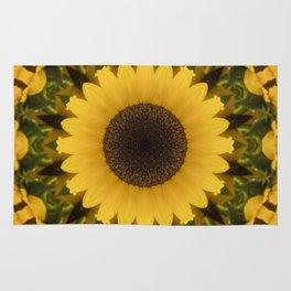 Beautiful Sunflower Rug