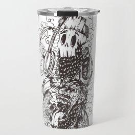 The Skeleton Banjo Travel Mug
