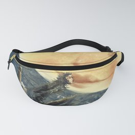 The Moon and the Crow Fanny Pack
