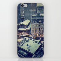 baltimore iPhone & iPod Skins featuring Baltimore by Faith Dunbar